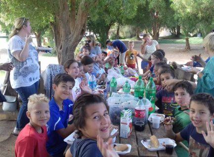 Пикник в Эль Гуне