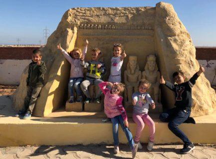 Поездка в Mini Egypt Park. Макади, Хургада (12.12.2018)