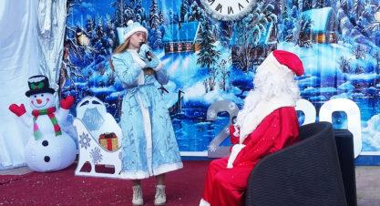 Новогодняя ёлка 2019. Волшебный посох Деда Мороза.